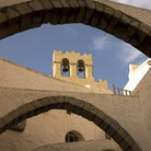 Picture - Bell tower of St John the Divine Monastery on Patmos.