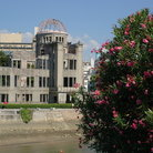 Picture - Ruined building at the Hiroshima Memorial Park, Hiroshima.