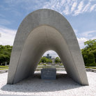 Picture - Memorial at Peace Park in Hiroshima.
