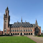 Picture - The Peace Palace, International Court of Justice in The Hague.