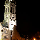 Picture - Church tower in Peebles.