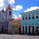Picture - Pelourinho Quarter of Salvador.