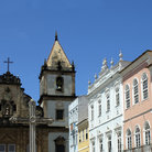 Picture - Architecture of the Pelourinho area of Salvador.