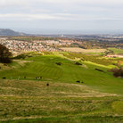 Picture - Golf course in Pentland Hills, Edinburgh.