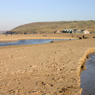 Picture - The beach at Perranporth.