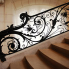 Picture - Stair railing at the Petit Palais in Paris.
