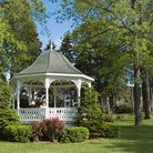 Picture - Gazebo in town park, Petoskey, Michigan.