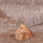 Picture - Lunar landscape of Blue Mesa, Petrified Forest National Park.