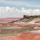 Picture - Painted Desert Wilderness in Petrified Forest National Park.