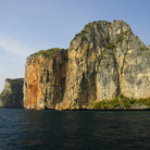 Picture - Cliffs of Koh Phi Phi Ley.