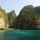 Picture - Cliffs of Koh Phi Phi Lay.