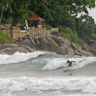 Picture - Surfing on Phuket.
