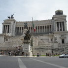 Picture - The Monument of Victor Emmanuel II in Piazza Venezia in Rome.