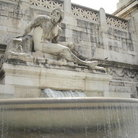 Picture - The Tyrrhenian Fountain at Monument of Victor Emmanuel II in Rome.