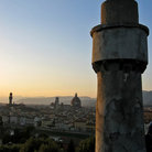 Picture - View from Piazzale Michelangelo in Florence.