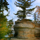 Picture - Miners Castle at Pictured Rocks National Lake shore.