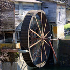 Picture - Old mill at Pigeon Forge.