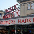 Picture - Farmers Market at Pike Place Market in Seattle.
