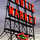 Picture - Fish Market in Seattle, Washington,.