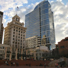 Picture - Highrises at Pioneer Square in Portland.