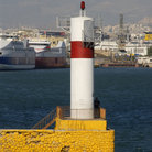 Picture - Channel entrance at Piraeus.