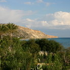 Picture - View over Pissouri Bay.