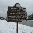 Picture - Pitot House sign, New Orleans, LA.