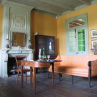 Picture - Sitting room of Pitot House in New Orleans.