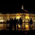 Picture - Night scene at Place de la Bourse in Bordeaux.