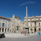 Picture - View of Place de la Republique in Arles.