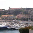Picture - Distant view of the Royal Palace in Monaco.