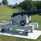 Picture - A canon on display at the Plains of Abraham.