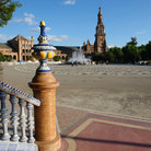 Picture - Plaza de Espana in Seville.