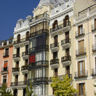 Picture - Orient Square in Madrid.