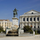 Picture - Plaza de Oriente and Opera House in Madrid.