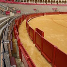 Picture - Inside the bullring in Seville.