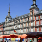 Picture - Plaza Mayor in Madrid.