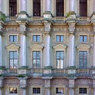 Picture - The renaissance facade of the Plumlov Chateau.