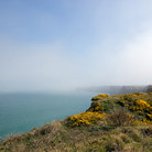 Picture - Clear skies over Pointe du Hoc.