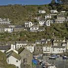 Picture - The hillside town of Polperro.