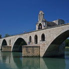 Picture - Pont Saint-Benezet in Avignon.