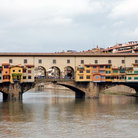 Picture - Ponte Vecchio, the Old Bridge in Florence.