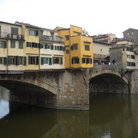 Picture - The Ponte Vecchio (1345) the famous bridge in Florence.