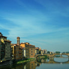 Picture - View of Florence with Pone Vecchio.