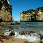 Picture - Shoreline of Victoria in Port Campbell National Park, Australia.