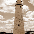 Picture - The Lighthouse at Port Huron.