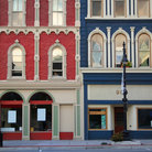 Picture - Historic buildings in Port Huron, Michigan.