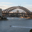 Picture - Sydney Opera House and Sydney Harbour.