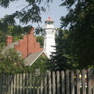Picture - Port Sanilac Lighthouse, Michigan.