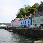 Picture - Buildings along the waterfront in Portree.